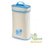 Túi ủ bình sữa đôi bọc vải Kuku KU5448