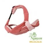 Địu 4 cách La Qpit màu hồng đậm