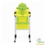 Ghế ăn đa năng Brevi Slex vàng – xanh lá