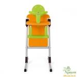 Ghế ăn đa năng Brevi Slex cam – xanh lá