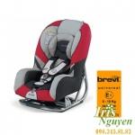 Ghế ôtô Brevi GrandPrix đỏ - ghi - xám
