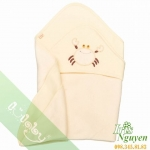 Chăn ủ Lullaby cotton nỉ NH0712