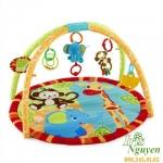 Thảm nằm chơi cho bé Bright Starts họa tiết khỉ