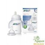 Bình ập uống nước Avent BPA FREE (PP) 260ML