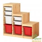 Tủ đựng đồ cho bé Ikea