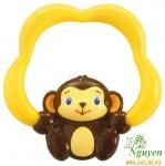 Cắn răng Bright Starts hình khỉ