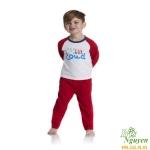 Bộ thun Mother Care đỏ trắng 5 tuổi