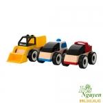 Bộ đồ chơi ô tô bằng gỗ IKEA