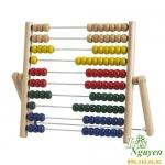 Bàn tính gỗ Abacus Ikea