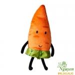 Gối ôm cà rốt bông IKEA TORVA