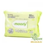 Khăn giấy ướt Moony