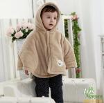 Áo choàng cánh dơi Tolo Rabbit cho bé 2 tuổi