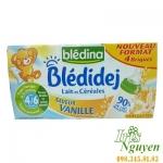 Sữa tươi Bledina vị Vani 4M 250ml