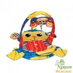Thảm nằm chơi hình khỉ Lamaze