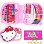Bộ sáp màu Hello Kitty 63 colors