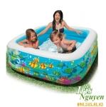 Bể bơi Intex 159cm x 159cm x 50cm