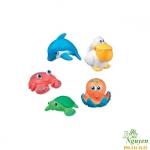 Đồ chơi tắm 5 Sinh vật biển Munchkin