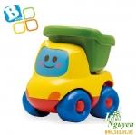 Xe tải thùng màu xanh Bkids