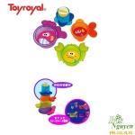 Đồ chơi tắm xếp hộp cua cá Toyroyal