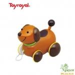 Đồ chơi kéo xe Cún nâu Toyroyal