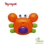 Đồ chơi tắm cua nhiều màu Toyroyal