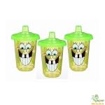 Bộ 3 cốc chống đổ Spongebob Munchkin