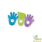Gặm nướu gel hình bàn chân/bàn tay Munckin MK74001