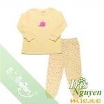 Pijama lullaby bé gái vàng