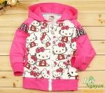 Bộ quần áo dài tay Hello Kitty 4 tuổi