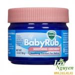 Kem bôi ấm ngực giảm ho Vicks Baby Rub (50g)(3m+)
