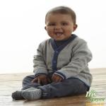 Áo len ghi cài giữa Mother care 3 - 4 tuổi