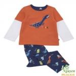 Bộ thun khủng long Mother Care 4 tuổi trở lên