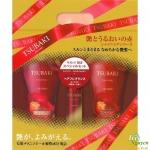 Bộ gội xả Tsubaki Shiseido đỏ