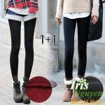 Quần nỉ lót nhung lông cừu Warmth pants Hàn Quốc