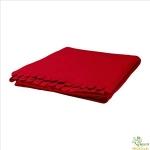 Chăn dạ mỏng đỏ Polarvide Ikea