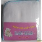 Khăn tắm cuốn biên Baby Bear 4 lớp 70x95cm