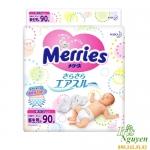 Bỉm dán Merries Newborn SS90 (Hàng nội địa nhật) (<5kg)