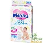Bỉm dán Merries L54 ( hàng  nội địa Nhật ) 9 - 14 kg