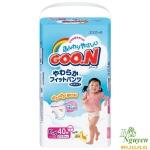 Bỉm dán Goon Xl 40 cho bé gái 12 - 20 kg