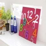 Đồng hồ Meidi Clock treo tường hình vuông