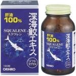 Sụn vi cá mập Squalene ORIHIRO 180 viên