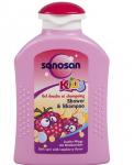 Tắm và gội cho trẻ hương Mâm Xôi Sanosan