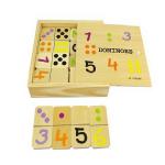 Đồ chơi gỗ Domino số