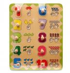 Bảng số ngón Hongji Toys