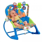 Ghế rung Fisher-Price X7033 Infant to Toddler Rocker, Snails